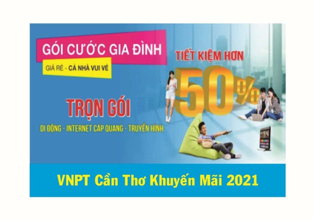 VNPT Cần Thơ Khuyến Mãi 2021